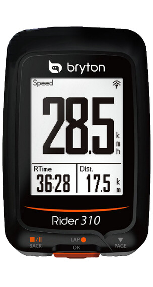 Bryton Rider 310 H Licznik rowerowy czarny